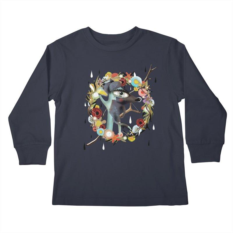 Every story has it's scars Kids Longsleeve T-Shirt by rupydetequila's Shop
