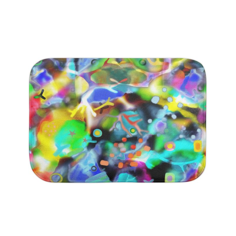 Abstract Ugly Rupydetequila Still Life Home Bath Mat by rupydetequila's Shop