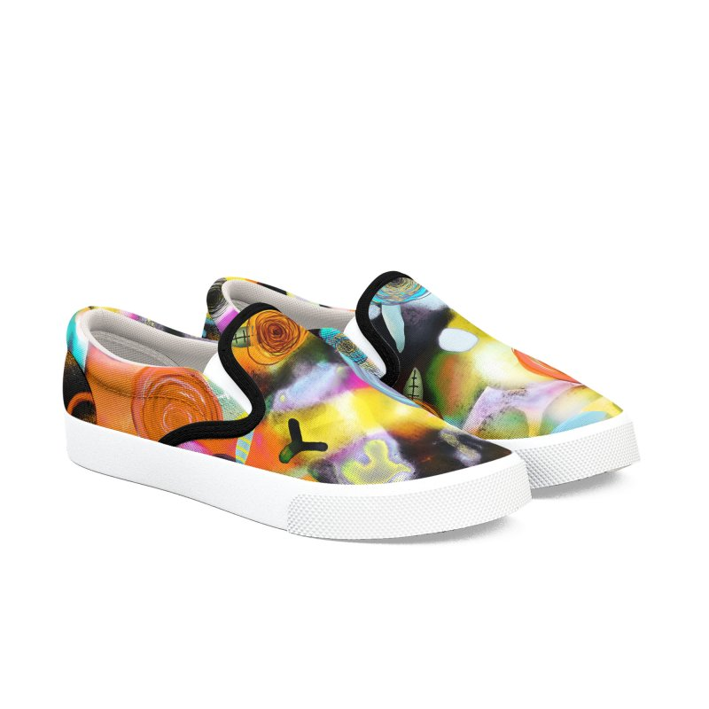 Abstract Ugly Rupydetequila Still Life Men's Slip-On Shoes by rupydetequila's Shop