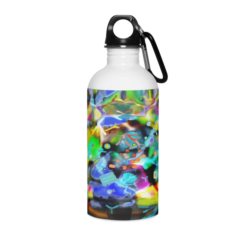 Abstract Ugly Rupydetequila Still Life Accessories Water Bottle by rupydetequila's Shop