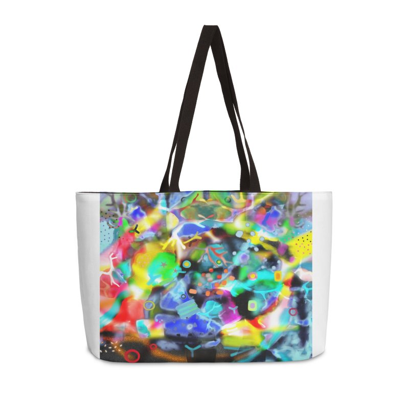 Abstract Ugly Rupydetequila Still Life Accessories Weekender Bag Bag by rupydetequila's Shop