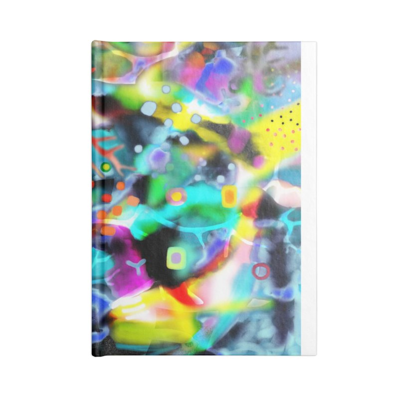 Abstract Ugly Rupydetequila Still Life Accessories Lined Journal Notebook by rupydetequila's Shop