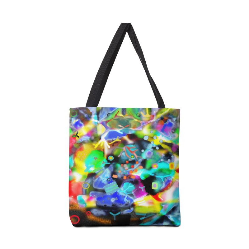 Abstract Ugly Rupydetequila Still Life Accessories Tote Bag Bag by rupydetequila's Shop