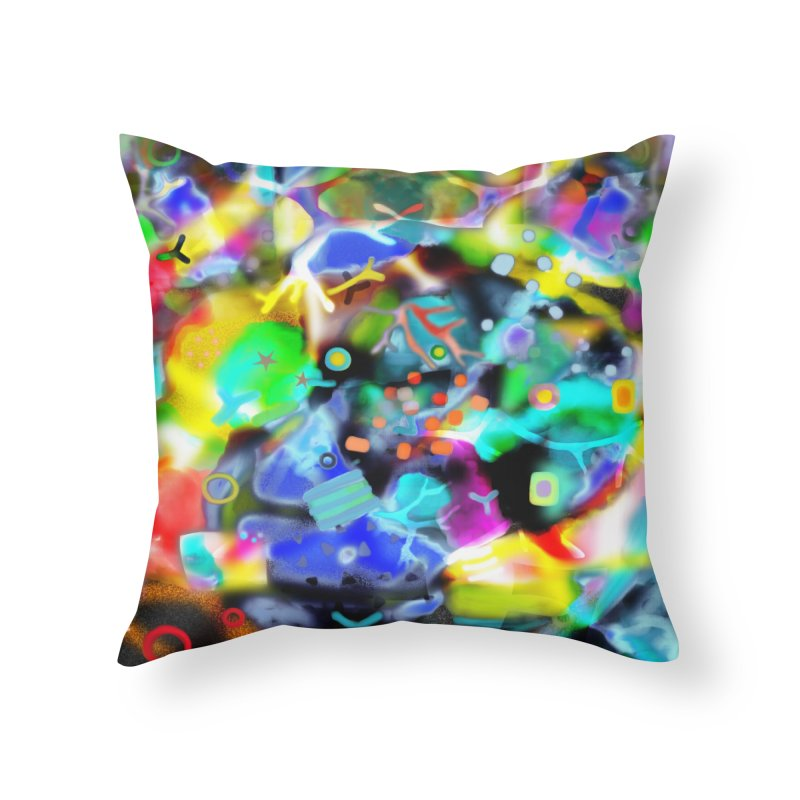 Abstract Ugly Rupydetequila Still Life Home Throw Pillow by rupydetequila's Shop