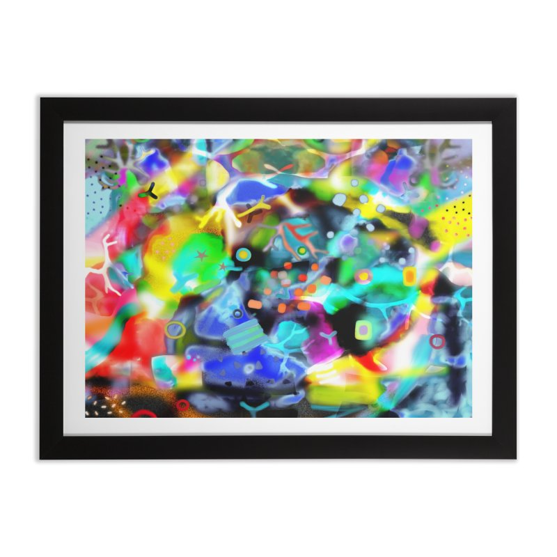 Abstract Ugly Rupydetequila Still Life Home Framed Fine Art Print by rupydetequila's Shop