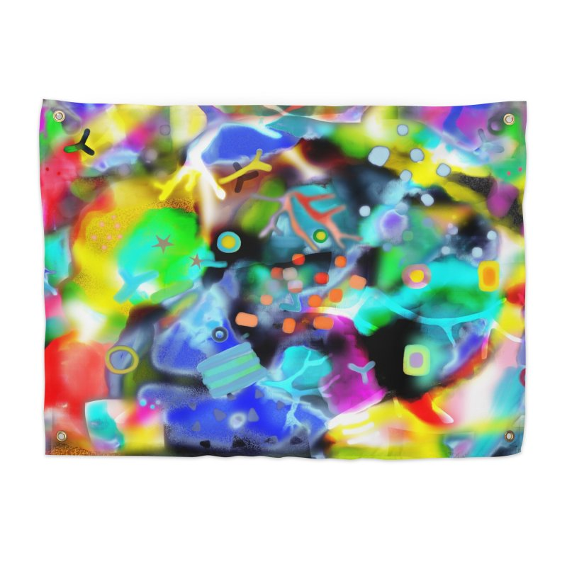Abstract Ugly Rupydetequila Still Life Home Tapestry by rupydetequila's Shop