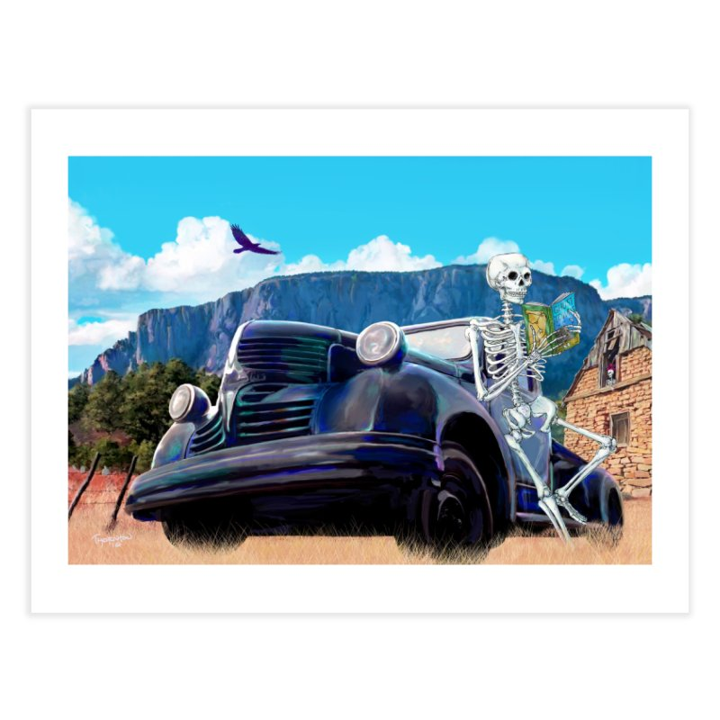 On the Road to Hermit's Peak - Wall art Home Fine Art Print by russellthornton's Artist Shop
