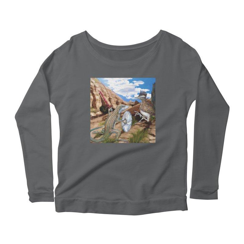 Jack Bluetail & the Roadrunner - Apparel Women's Longsleeve T-Shirt by russellthornton's Artist Shop