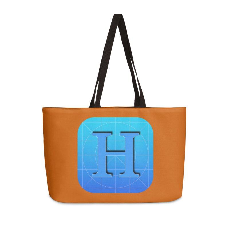 Hagent named logo Accessories Weekender Bag Bag by Russia 2018 Artist Shop