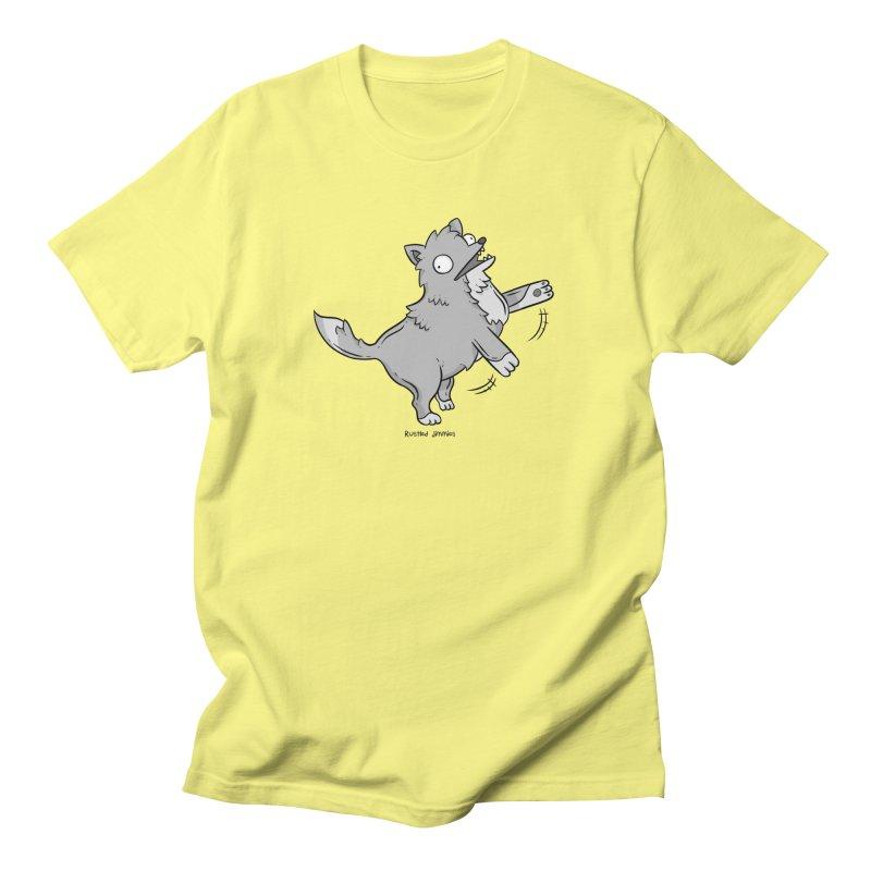Derpy Wolf Men's Regular T-Shirt by Rustled Jimmies