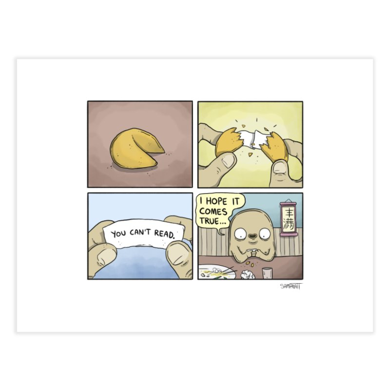 Fortune Cookie - Print Home Fine Art Print by Rustled Jimmies