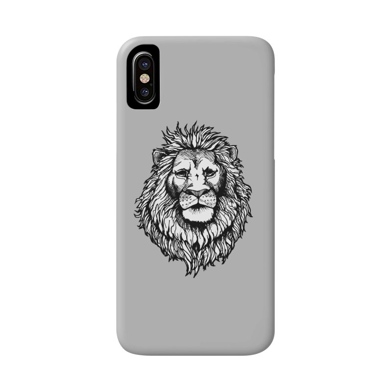 Noble Lion Accessories Phone Case by Red Rust Rum - Shop