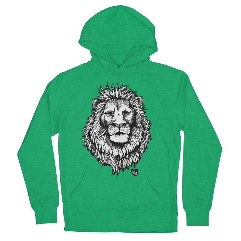 Noble Lion Women's Pullover Hoody by Red Rust Rum - Shop