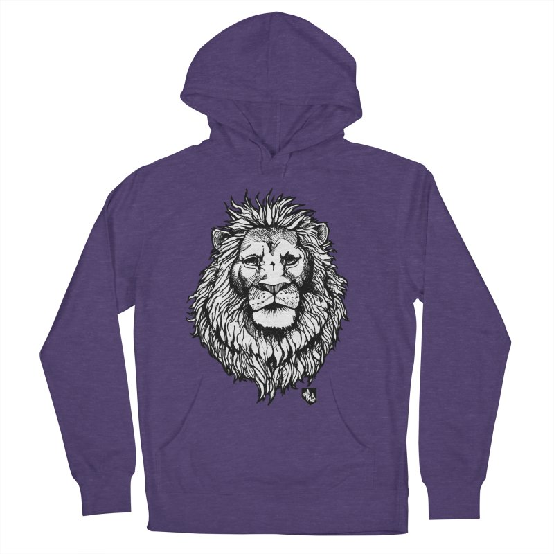 Noble Lion Men's Pullover Hoody by Red Rust Rum - Shop