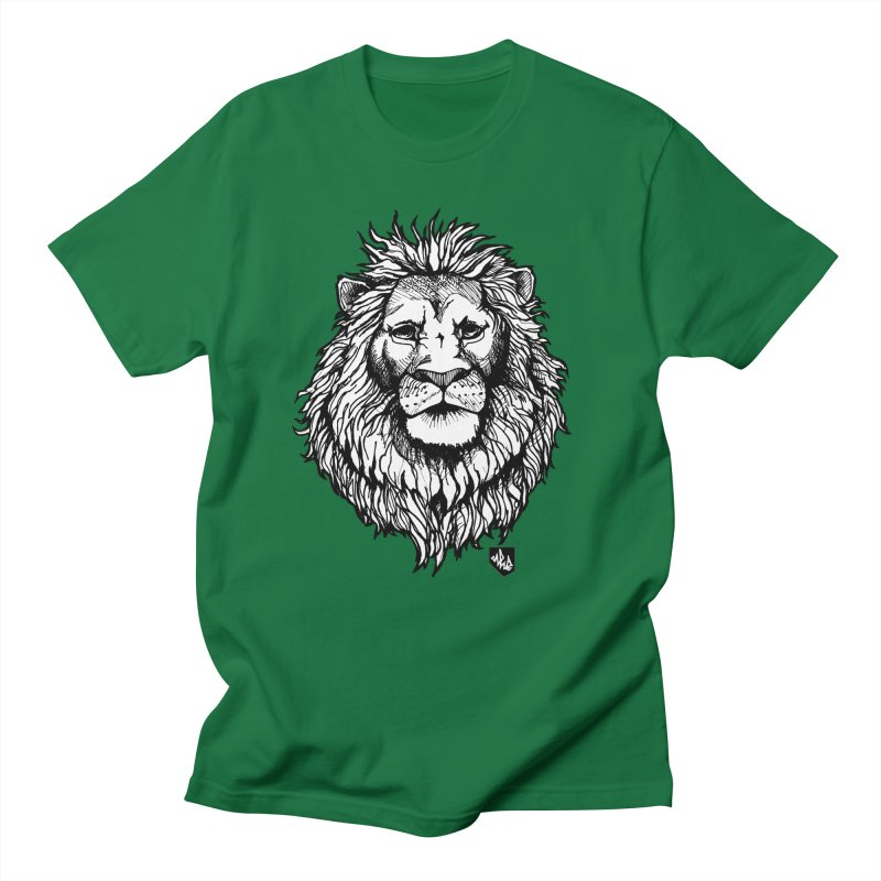 Noble Lion Men's T-shirt by Red Rust Rum - Shop