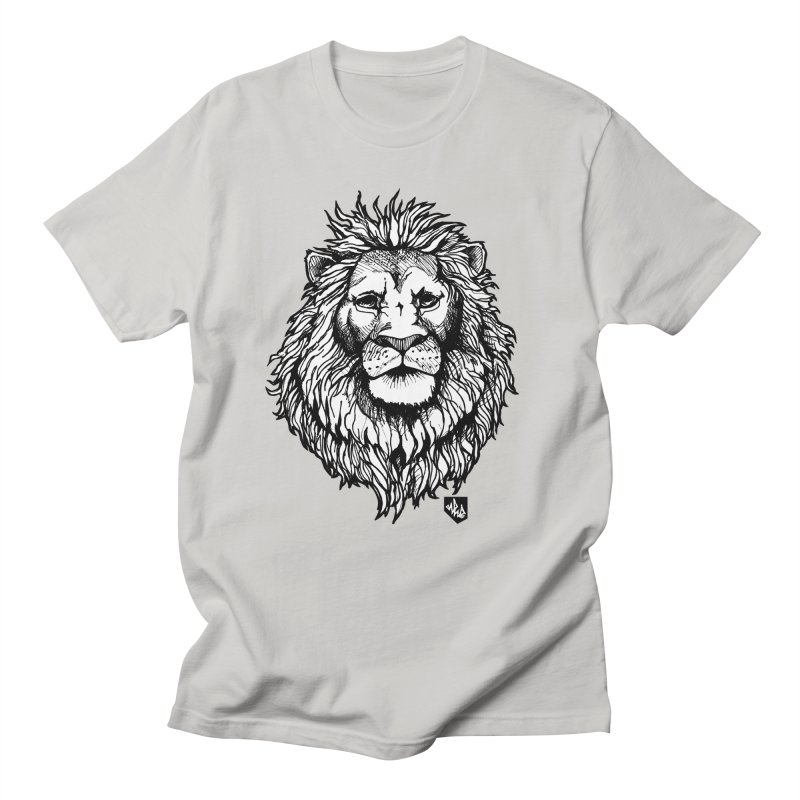 Noble Lion in Men's T-Shirt Stone by Red Rust Rum - Shop