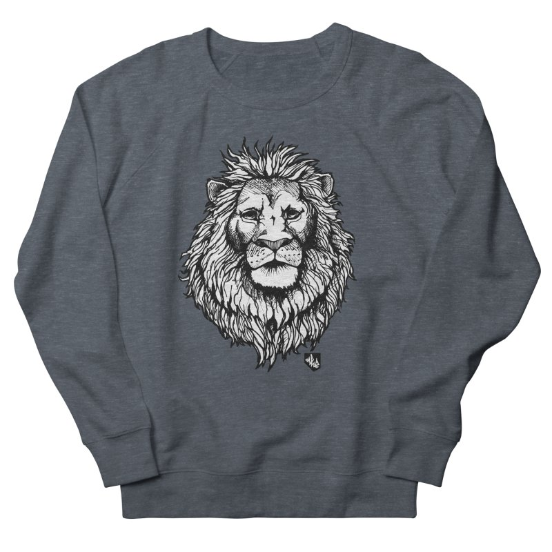 Noble Lion Men's Sweatshirt by Red Rust Rum - Shop