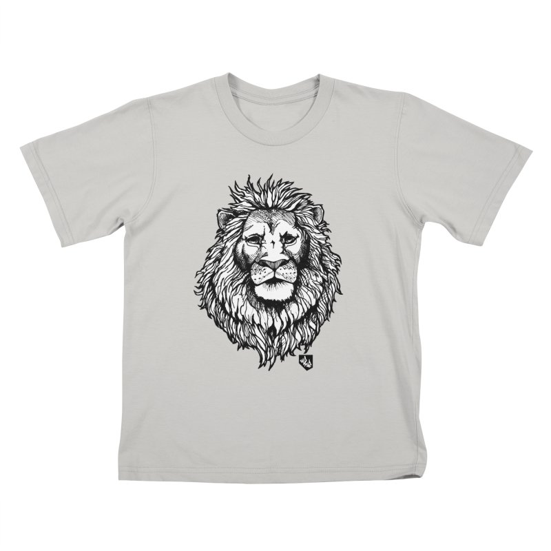 Noble Lion Kids T-Shirt by Red Rust Rum - Shop