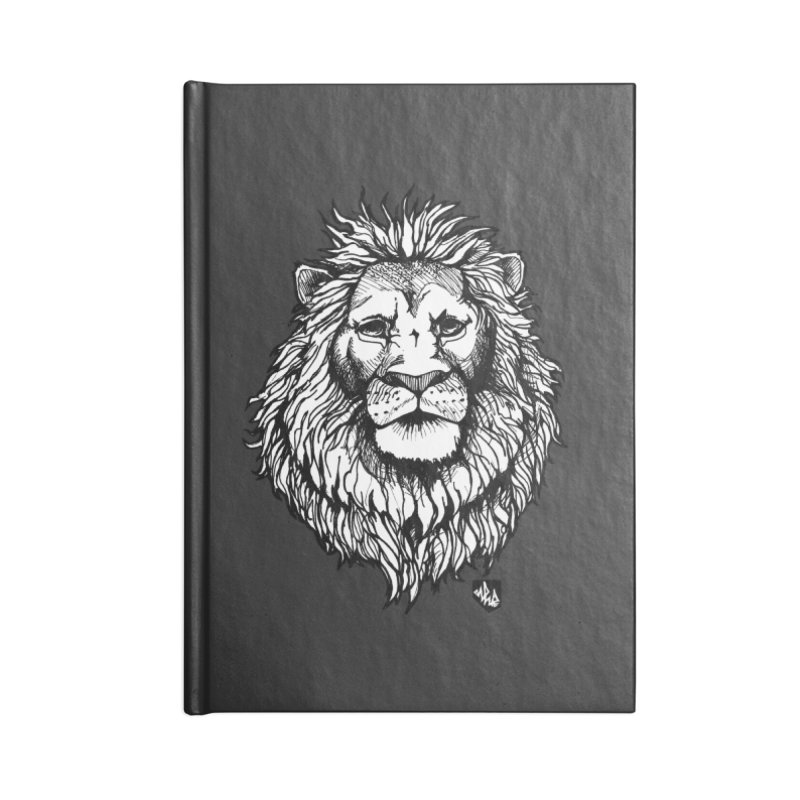 Noble Lion Accessories Notebook by Red Rust Rum - Shop