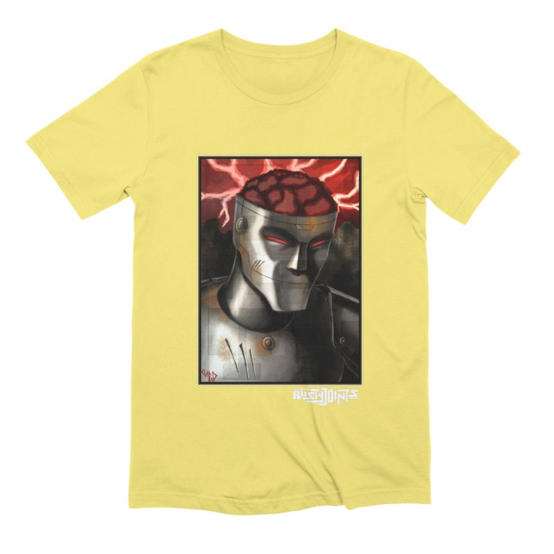 Rusty Joints - Chaos Portrait Tee Men's Extra Soft T-Shirt by Red Rust Rum - Shop