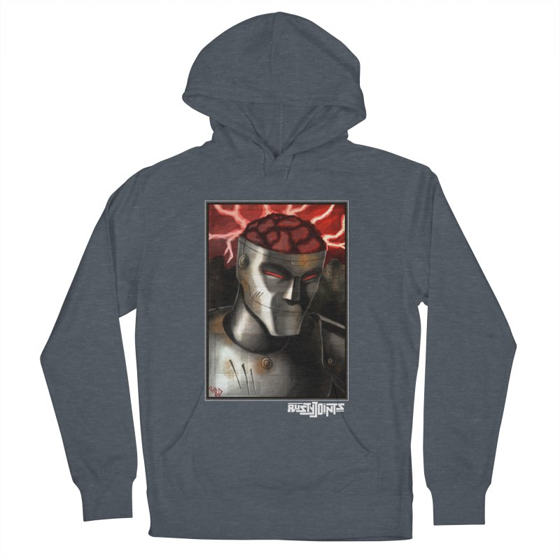 Rusty Joints - Chaos Portrait Tee Women's French Terry Pullover Hoody by Red Rust Rum - Shop