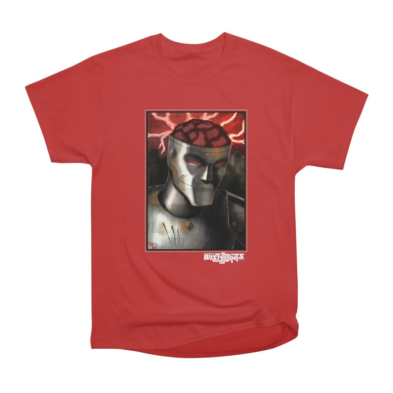 Rusty Joints - Chaos Portrait Tee Men's Heavyweight T-Shirt by Red Rust Rum - Shop