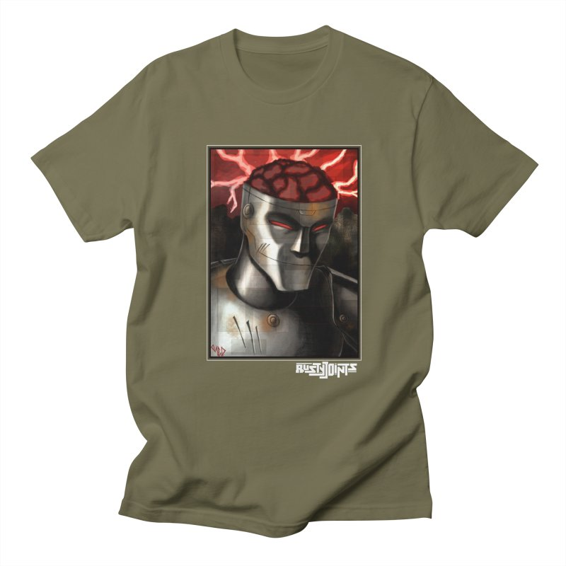 Rusty Joints - Chaos Portrait Tee Men's Regular T-Shirt by Red Rust Rum - Shop