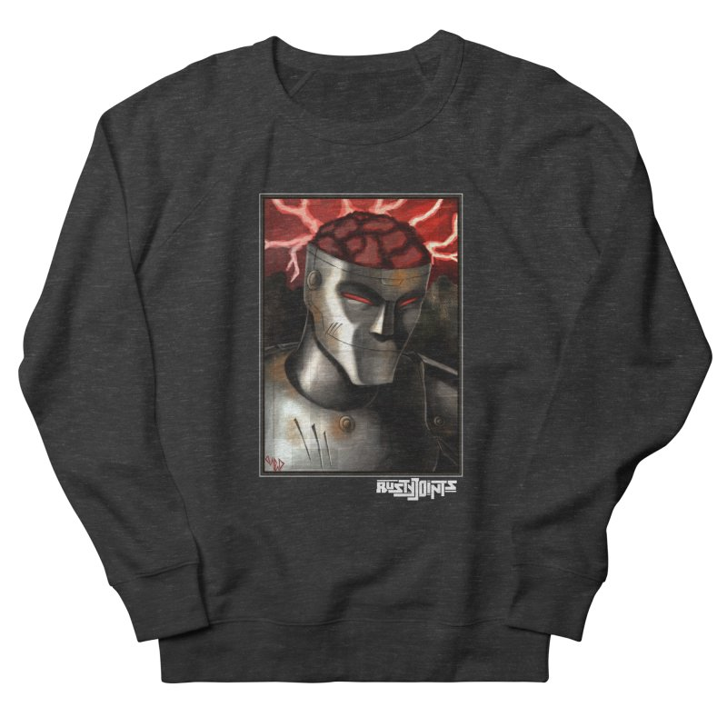 Rusty Joints - Chaos Portrait Tee Men's French Terry Sweatshirt by Red Rust Rum - Shop