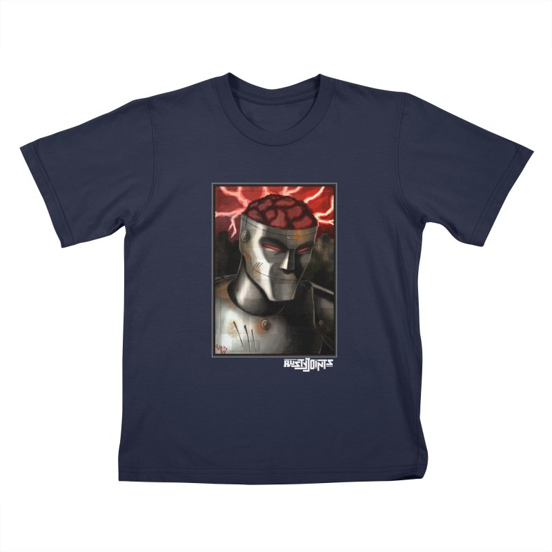 Rusty Joints - Chaos Portrait Tee Kids T-Shirt by Red Rust Rum - Shop