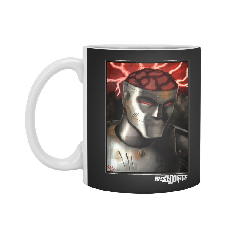 Rusty Joints - Chaos Portrait Tee Accessories Mug by Red Rust Rum - Shop