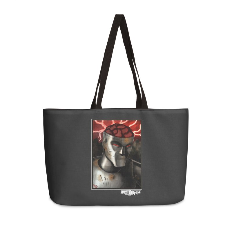 Rusty Joints - Chaos Portrait Tee Accessories Weekender Bag Bag by Red Rust Rum - Shop