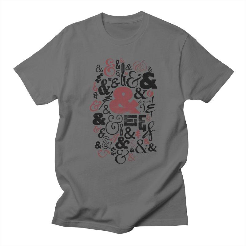 Ampersand Men's T-Shirt by rus wooton   artist   designer