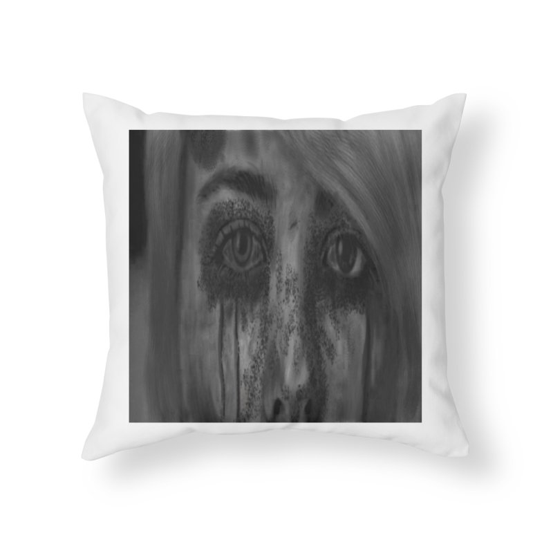 NO VIOLENCE Home Throw Pillow by rustyrottenjames's Artist Shop
