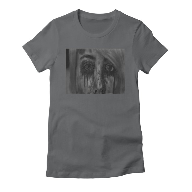 NO VIOLENCE Women's Fitted T-Shirt by rustyrottenjames's Artist Shop
