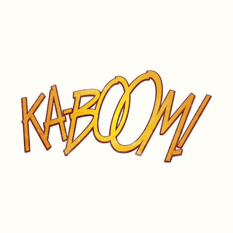 Ka-Boom! Men's Pullover Hoody by rus wooton