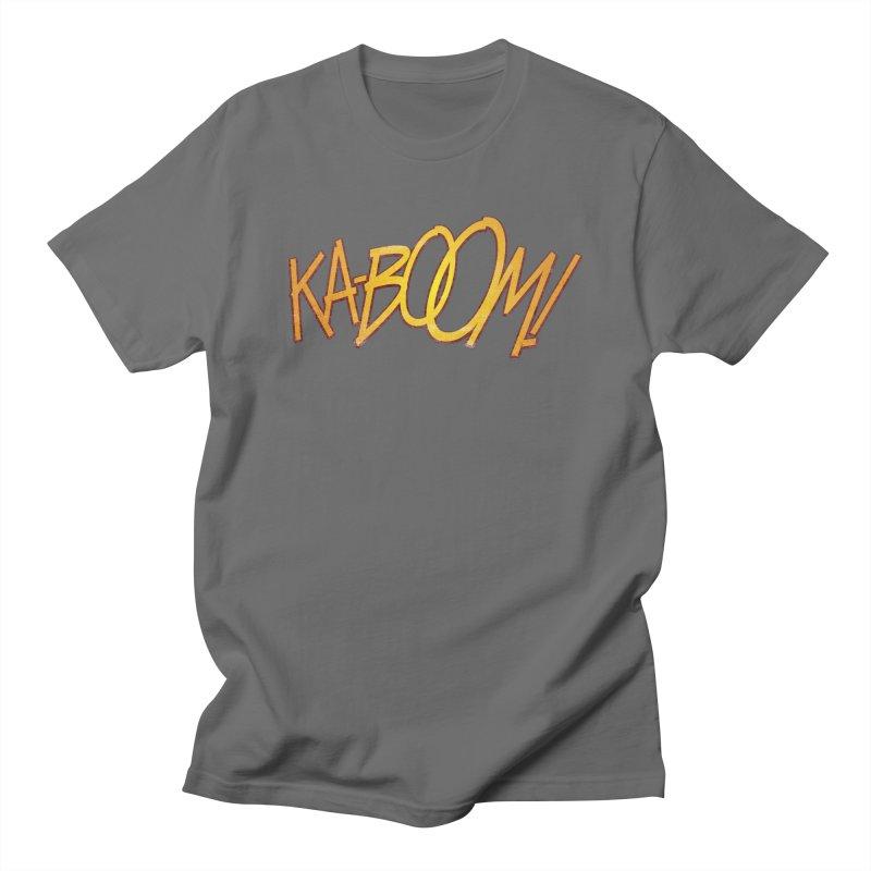 Ka-Boom! Men's T-Shirt by rus wooton