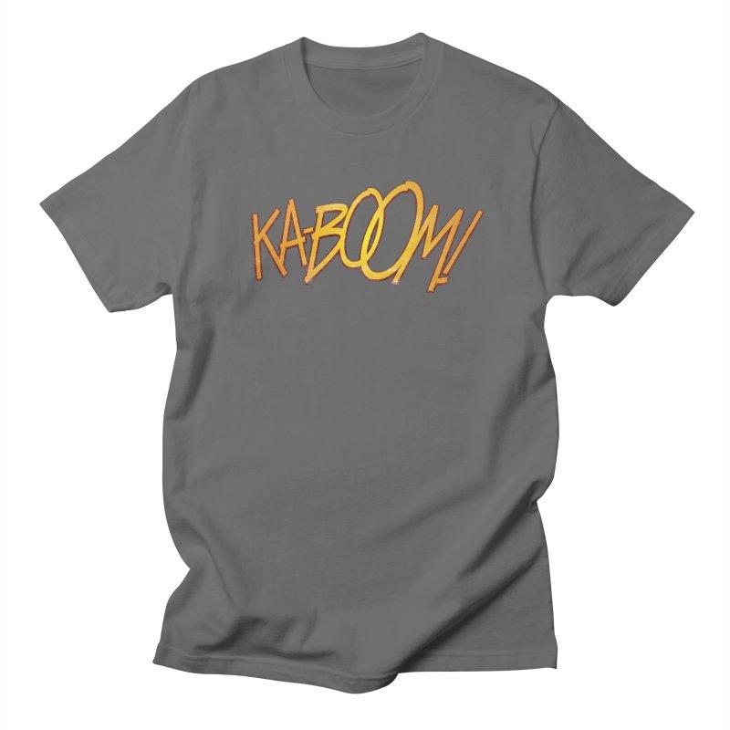 Ka-Boom!  Men's T-Shirt by rus wooton | artist | designer