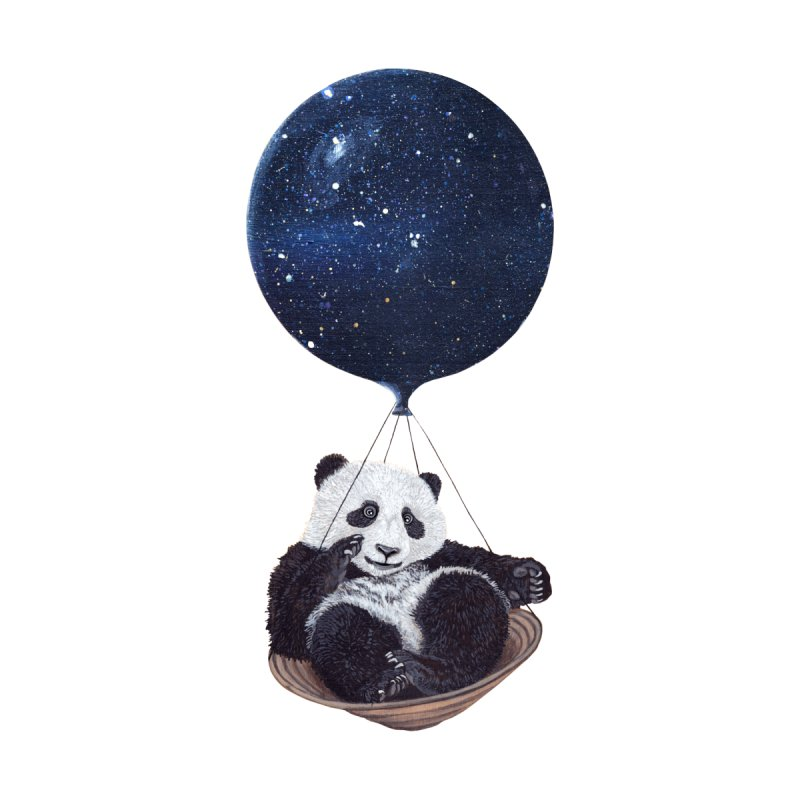 Panda None  by ruta13art's Artist Shop
