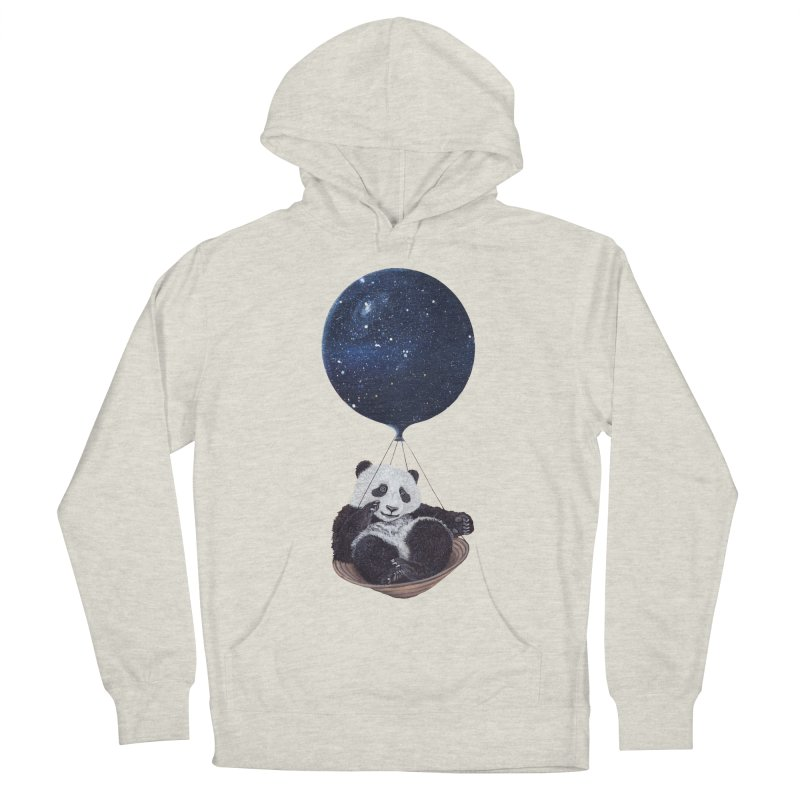 Panda Men's Pullover Hoody by ruta13art's Artist Shop