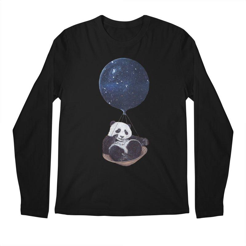 Panda Men's Longsleeve T-Shirt by ruta13art's Artist Shop
