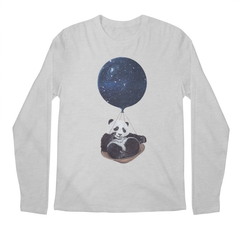 Panda Men's Longsleeve T-Shirt by ruta13art's Artist Shop