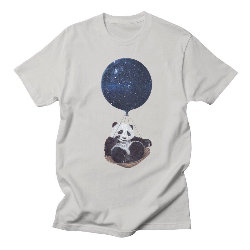Panda Men's T-shirt by ruta13art's Artist Shop