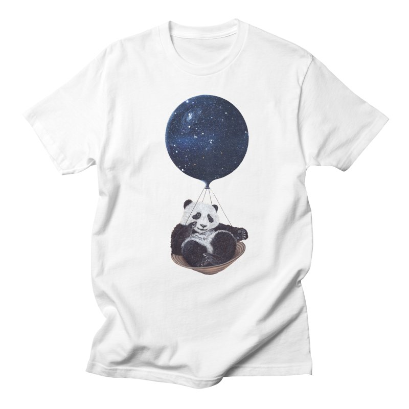 Panda Men's T-shirt by ruta13art's Artist Shop