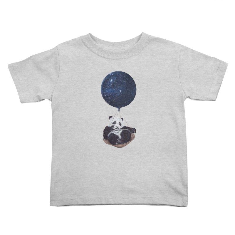 Panda Kids Toddler T-Shirt by ruta13art's Artist Shop