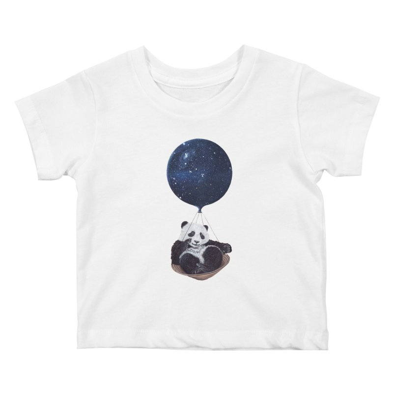 Panda Kids Baby T-Shirt by ruta13art's Artist Shop
