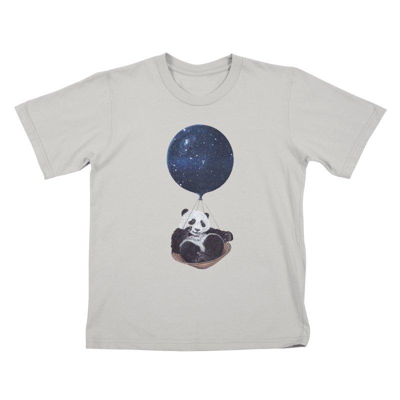 Panda Kids T-shirt by ruta13art's Artist Shop