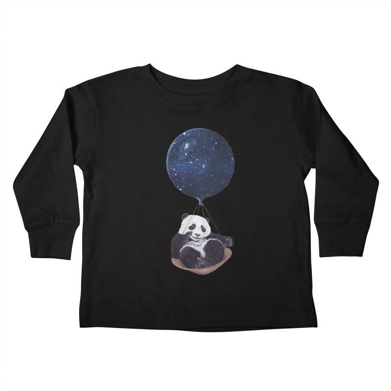 Panda Kids Toddler Longsleeve T-Shirt by ruta13art's Artist Shop