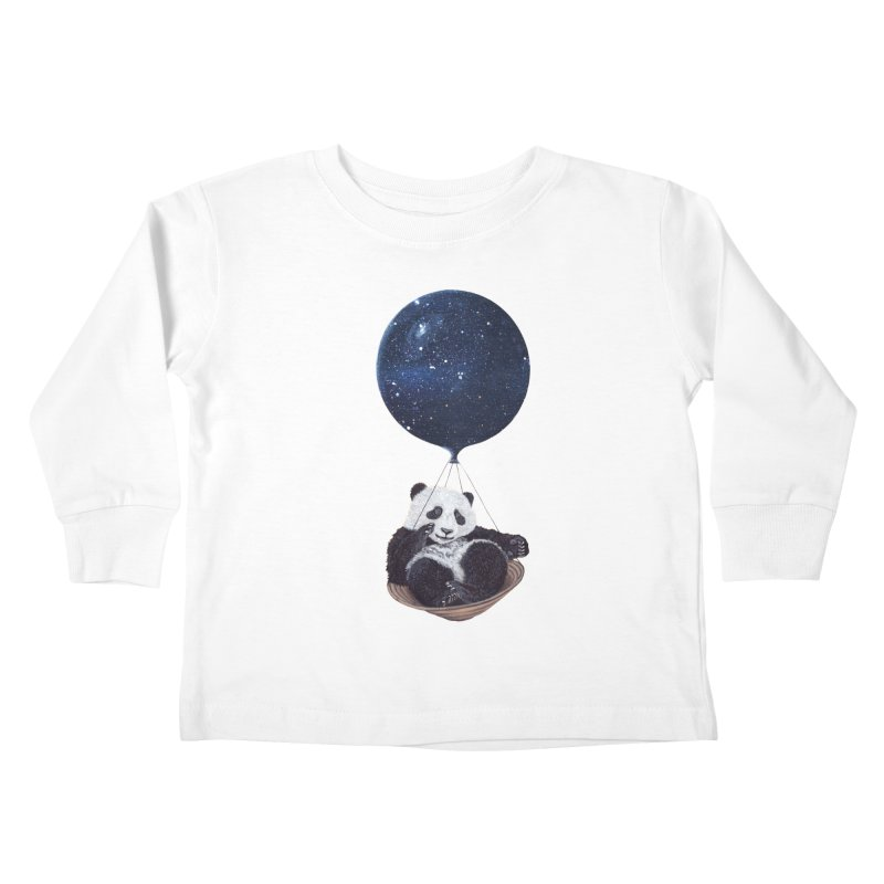 Panda Kids Toddler Longsleeve T-Shirt by ruta13art's Artist Shop