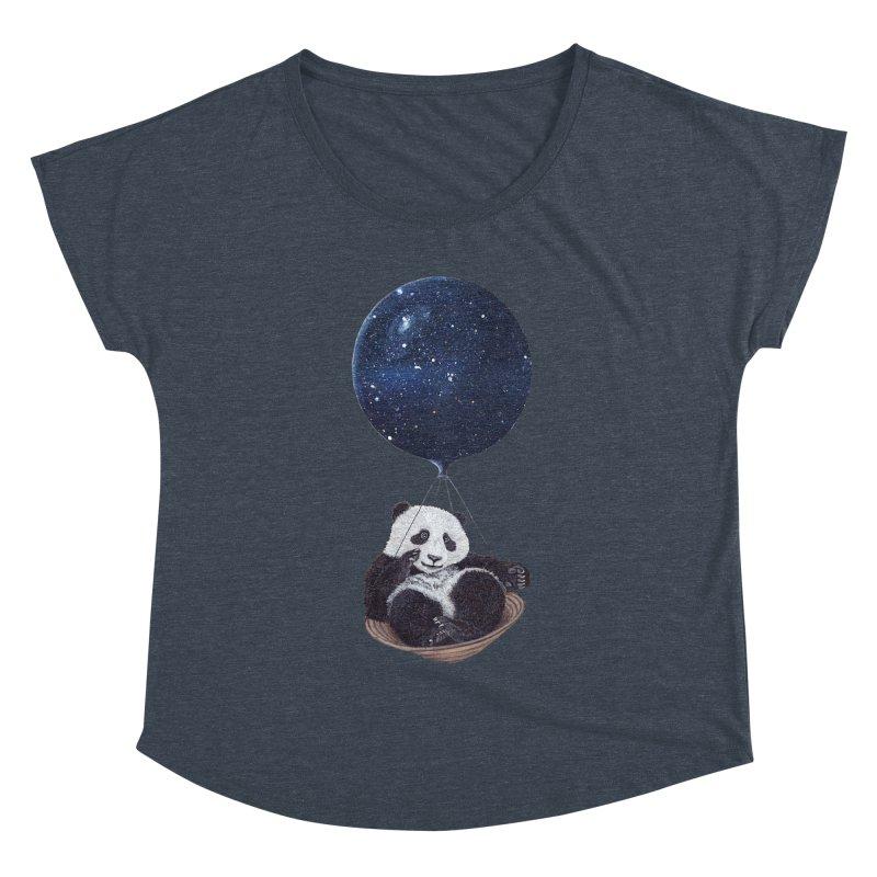 Panda Women's Dolman by ruta13art's Artist Shop