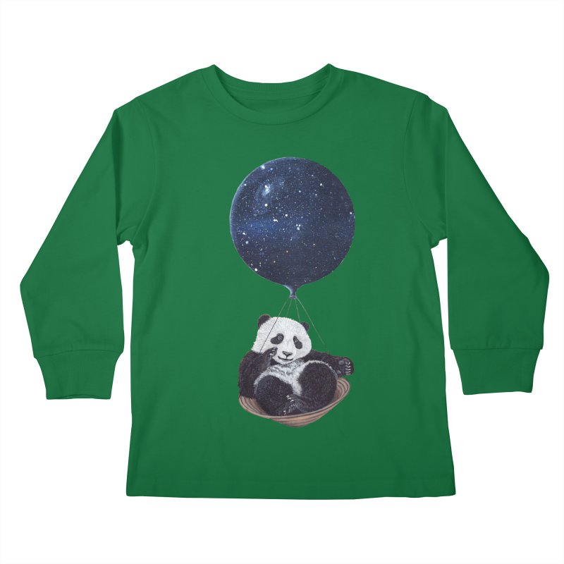 Panda Kids Longsleeve T-Shirt by ruta13art's Artist Shop